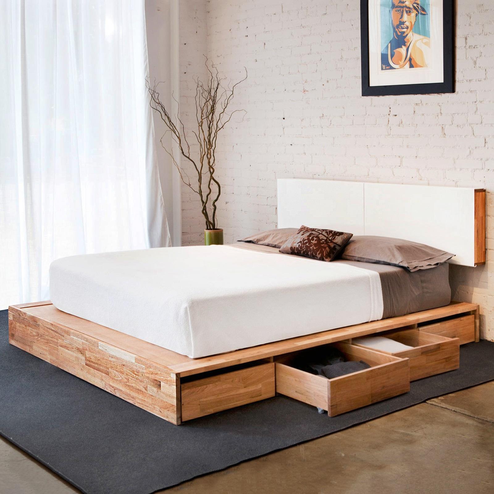 Кровать подиум своими руками от а до